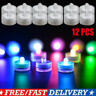 Внешний вид - 12pcs Flameless Votive Candles Battery Operated LED Tea Light Wedding Party Xmas