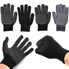 2x Heat Proof Resistant Protective Gloves for Hair Styling Tool Straightener  gq