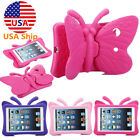 For iPad Mini 1 2 3 4 Butterfly Kids EVA Shockproof Foam Handle Case Tablet Skin