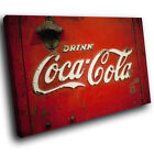Retro Coca Cola Cool Abstract Canvas Wall Art Cool Picture Prints £9.99  on eBay