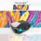 TRANSJEE 3800 Lumen 1280P Remote Control Movie Projector With 50000 Hrs LED Life