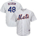 Majestic Big & Tall New York Mets Home #48 Baseball Jersey New Mens Sizes on Ebay