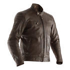 RST Mens Roadster 2 Tobacco Brown Leather Motorcycle Jacket New RRP £249.98!!