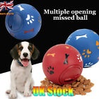 Dog Ball Toys Leakage Food Pet Supplies Chew Dispenser Puppy Play Interactive UK
