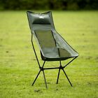 Trespass Roost Tall Camping Chair Lightweight Folding Garden Picnic BBQ Seat