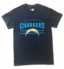 NFL Los Angeles Chargers *Bolt Logo* Navy Blue T-shirt *NEW* Officially-Licensed $8.75 USD on eBay