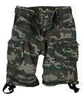 Halle 15 Clothes  Ultra Cargo Shorts Black Camouflage Vintage Shorts S Bis 5XL