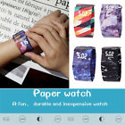 New 1PC Paper Watch LED Daily Waterproof Tyvek Paper Strap Digital Creative Gift image