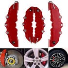 4pcs 3D style car universal disc brake caliper covers front & rear kits  X