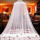 Princess Round Dome Mosquito Netting Mesh Elegant Lace Bed Canopy Bedding Net US image