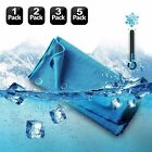 Ice Cold Enduring Running Work Out Gym Chilly Pad Instant Cooling Cool Towel lot image