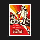 Vintage Coca Cola Poster / Print - Retro Drink Coke - Wall Art Decor - A5 A4 A3 £3.95  on eBay