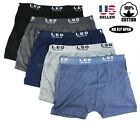 Kyпить Lot 3 Men's Underwear 100% Cotton Boxer Briefs Trunks Shorts Classic Pack Casual на еВаy.соm