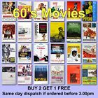 Poster Classic Movie Posters 1960s 60s Film Poster Films HD Borderless Printing £5.97 GBP on eBay