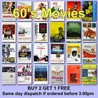 Poster Classic Movie Posters 1960s 60s Film Poster Films HD Borderless Printing £2.97 GBP on eBay