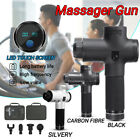 Percussion Massage Gun Muscle Relaxing Therapy Device Athlete Sports Recovery $89.99 USD on eBay
