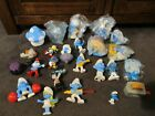 SMURFS...the smurfs...huge  lot of 26 toys!!!...Papa,singing SMURFS 2 CHARACTERS