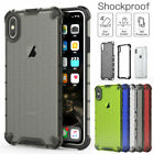 Hybrid Shockproof Armor Back Case for i Phone XS MAX XR Xs X 8 7 6S Plus Cover