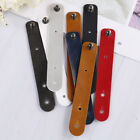 8pcs/set leather earphone winder cable cord organizer holder for mobile phone  X