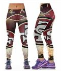 San Francisco 49ers S/M-L/XL (4-16) Women's Normal Quality Leggings Football $15.95 USD on eBay