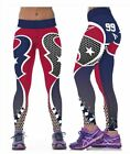 Houston Texans S/M-L/XL (4-16) Women's Normal Quality Leggings Football #99 $15.95 USD on eBay
