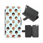 BTS Army Silly Faces Kpop Flip Wallet Phone Case(iPhone, Samsung)