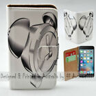 For Apple iPhone Series - Alarm Clock Stencil Print Mobile Phone Case Cover