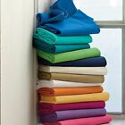 """Solid 15"""" Drop Length Multi Ruffle Bed Skirt 1000 TC Egyptian Cotton All US Size image"""