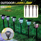 Solar Powered Garden Light Patio Outdoor Pathway Led Landscape Lawn Lamp Lights