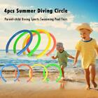3/4pcs Novelty Colorful Diving Grass Diving Circle Toy Kid Swimming Pool Toys
