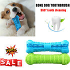 Pet Dog Bone shape Toothbrush Brushing Chew Toy Stick Teeth Cleaning Oral Care