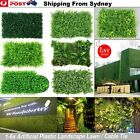 1-6x Artificial Plant Wall Grass Panels Boxwood Hedge Vertical Garden Fence Deco