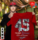 Los Angeles Angels T-Shirt Pitcher Tyler Skaggs #45 Thank you for the memories on Ebay