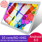 10 Inch  Android Tablet Android Go 8.0 6+64gb Pc With Tf Card Slot Dual Camera