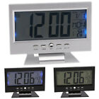 Multi Function LCD Digital Alarm Bed Clocks Snooze Calendar Weather Thermometer