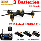 Hubsan H501S S Pro 5.8G FPV Drone Quadcopter 1080P Brushless Walk Me GPS RTF