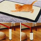 Natural Sisal Hemp Cat Scratch Board Mat Scratching Post Toy Sofa Pad Protector