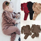 Kyпить US Toddler Baby Girl Clothes Sweatshirt Top Pants Infant Outfits Sets Tracksuit на еВаy.соm