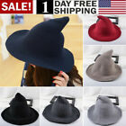 Kyпить US! Modern Witch Hat Made From High Quality Sheep Wool Halloween Party Witch Hat на еВаy.соm