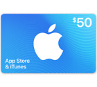 App Store & iTunes Gift Cards - $25 $50 or $100 Email-Delivery