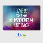Kyпить eBay Digital Gift Card - Love / Just Because Designs - Email Delivery на еВаy.соm