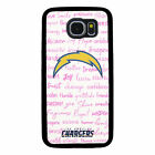 LOS ANGELES CHARGERS PHONE CASE FOR SAMSUNG GALAXY S5 S6 S7 S8 S9 S10 PLUS NOTE $12.9 USD on eBay