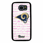 LOS ANGELES RAMS PHONE CASE FOR SAMSUNG GALAXY S6 S7 S8 S9 S10 E PLUS EDGE NOTE $14.99 USD on eBay