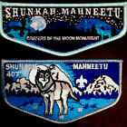 SHUNKAH MAHNEETU LODGE #407 - CRATERS of the MOON NAT MONUMENT & REGULAR ISSUE
