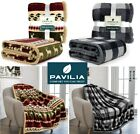 Christmas Blanket Microfiber Fleece Plaid Sherpa Throw for Couch Sofa Bed Chair image