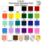 Craftables Adhesive Vinyl Roll 12 x 10' Permanent Craft Outdoor for Cricut