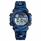 Kid Child Boy Digital Watch Multifunction Sport Waterproof Camouflage Watches