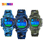 Kid Child Boy Digital Watch Multifunction Sport Waterproof Camouflage Watches image