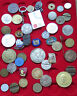 SMALL GROUP / COLLECTION / LOT JETONS MEDALS WORLD 45 pc 338 g  #xxD 10
