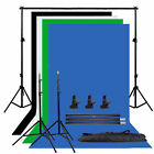 Photography Studio Screen Backdrop Background Support Stand Support System Kit